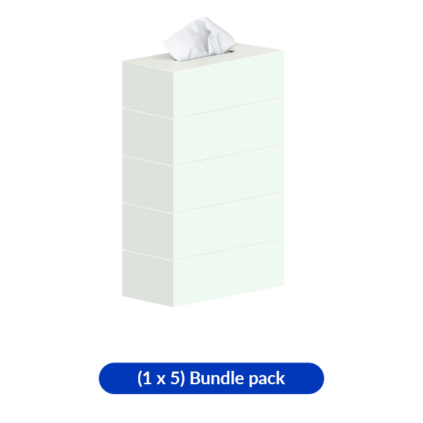 Facial Tissue White box 150 Sheet
